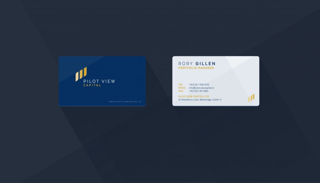 Pilot View Capital Business Cards